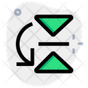 Flip Horizontal Bottom Icon