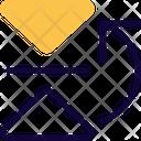 Flip Horizontal Top Icon