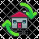 Flip house Icon