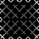 Flip Mirror Vertical Icon