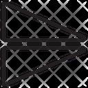 Flip Vertical Flip Image Reflect Icon