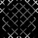Flip Vertical Left Icon