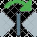 Flip Vertical Right Icon
