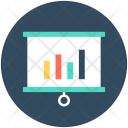 Flipchart Graph Analysis Icon