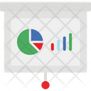 Flipchart Graph Presentation Note Icon