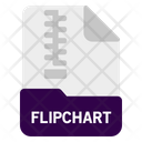 Flipchart File Document Icon
