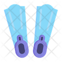 Flipers Diving Fins Icon