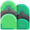 Flipflop Sandal Footware Icon