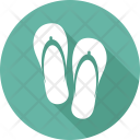 Beach Holiday Slippers Icon