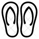 Flipflop Slipper Icon