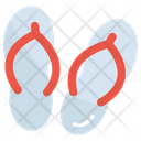 Beachwear Flipflop Footwear Icon