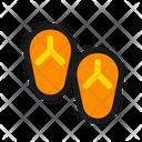 Sandals Flipflop Footwear Icon