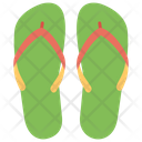 Flip Flops Slippers Beach Flippers Icon