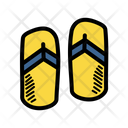 Footwear Sandals Slippers Icon