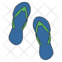 Flipflops Slippers Casual Icon