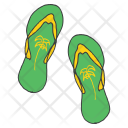 Flipflops Slippers Accessory Icon