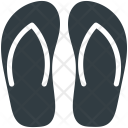 Flipflops Slippers House Icon