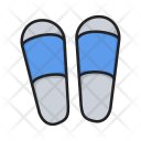 Flipflops Shoes Slippers Icon