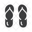 Vacation Footwear Holiday Icon