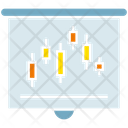 Chart Graph Projector Icon