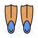 Flippers Swimming Pool Icon