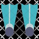 Flippers Sea Swim Icon
