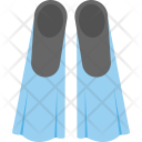 Swimming Flippers Diving Icon