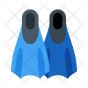 Flippers Swimfins Icon