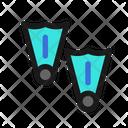Swimfins Swim Fins Icon