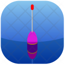 Float Blue Fishing Icon
