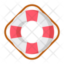 Float Lifebuoy Help Icon