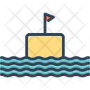 Float Submarine Cruise Icon