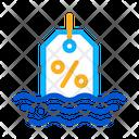 Floating Interest Refinance Icon