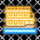 Floating Boat Icon