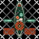 Floating market Icon