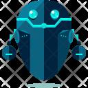 Floating robot Icon
