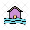 Flood Symbol Icon