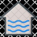 Flood Apartment House Icon