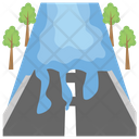 Flood Natural Disaster Flash Flood Icon