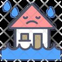 Flood Home House Icon