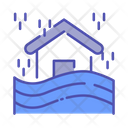 Flood Rain Rainy Icon