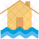 Flood Insurance Water Icon
