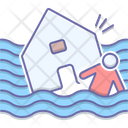 Flood Hurricane Earthquake Icon