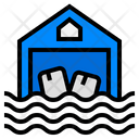 Flood Deluge Inundation Icon