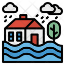 Flood Storm Water Icon