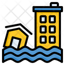 Flood Disaster Earthquake Icon