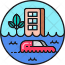 Flood Flash Flood Flooding Icon