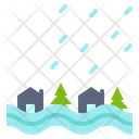 Flood Disaster Danger Icon