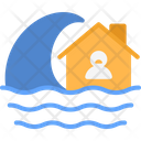Flood Weather Flooding Icon