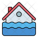 Flood House Water Icon
